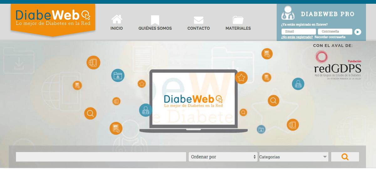 La web de adirmu obtiene el sello DiabeWeb