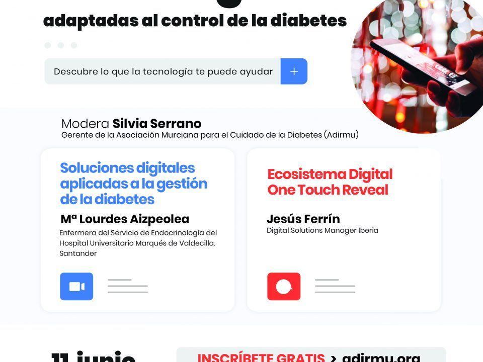 WEBINAR Nuevas tecnologías adaptadas al control de la diabetes scaled