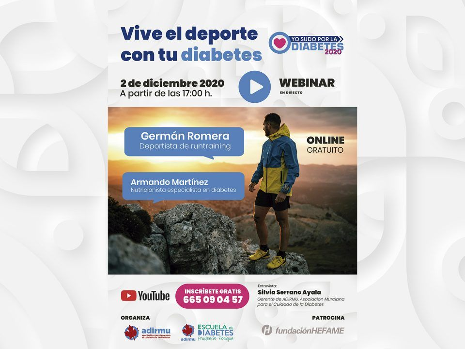 Webinar Vive el deporte con tu diabetes